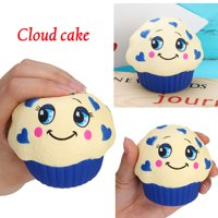 Squishies Jumbo Yummy Cloud Cake Slow Rising Squeeze Stress Reliever Charm Toy
