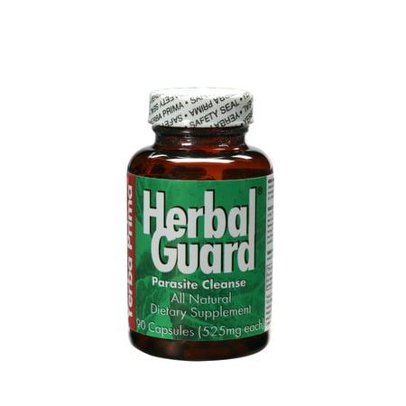 Herbal Parasite Cleanse - Yerba Prima Herbal Guard Parasite Cleanse Caps, 90 Ct