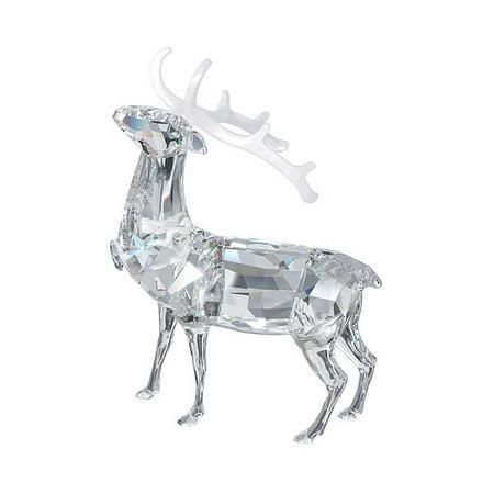 Swarovski Crystal Christmas Figurine CHRISTMAS STAG #5155699
