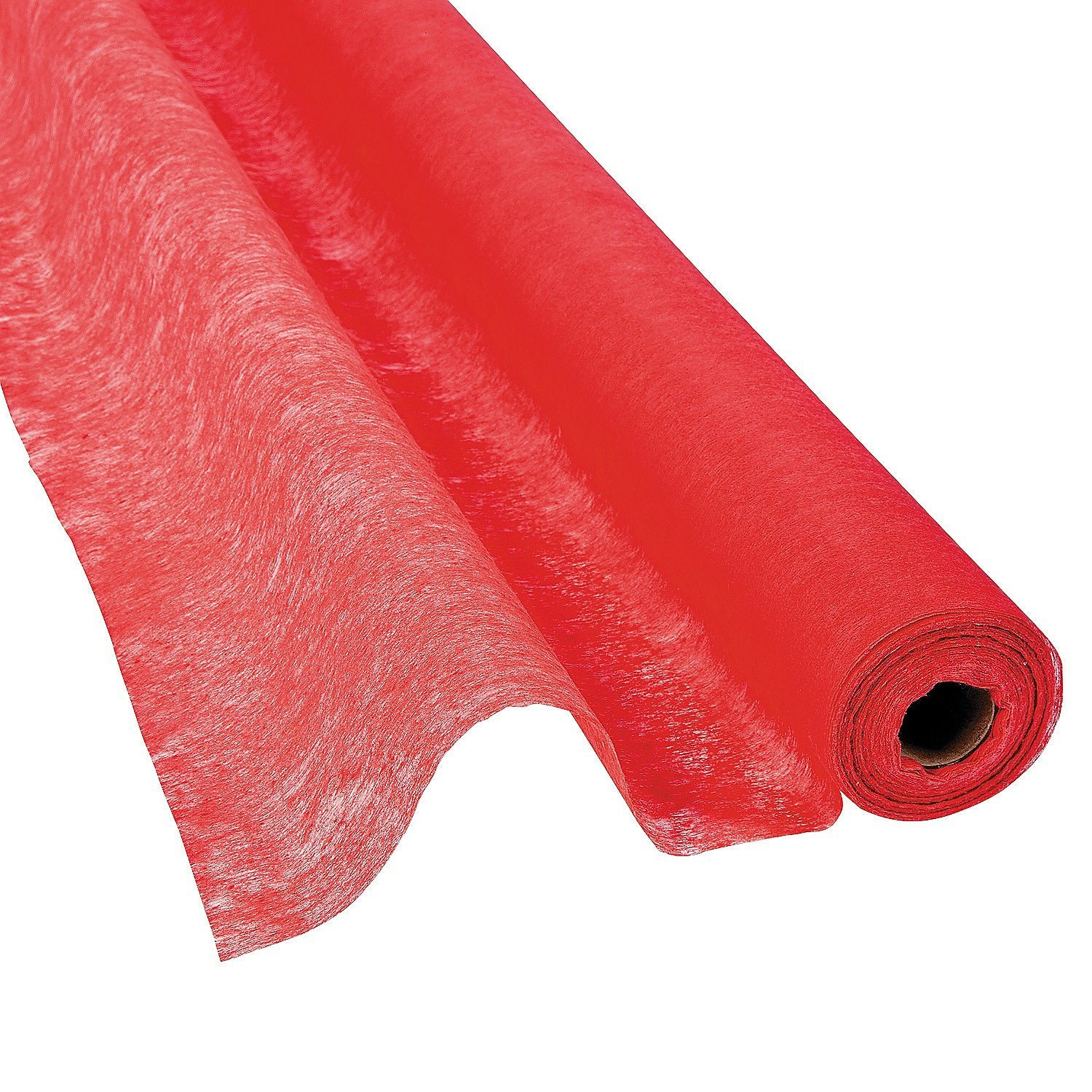 FX - Red Gossamer Roll 100 FT X 3 FT Wedding Aisle Decoration Table Cover