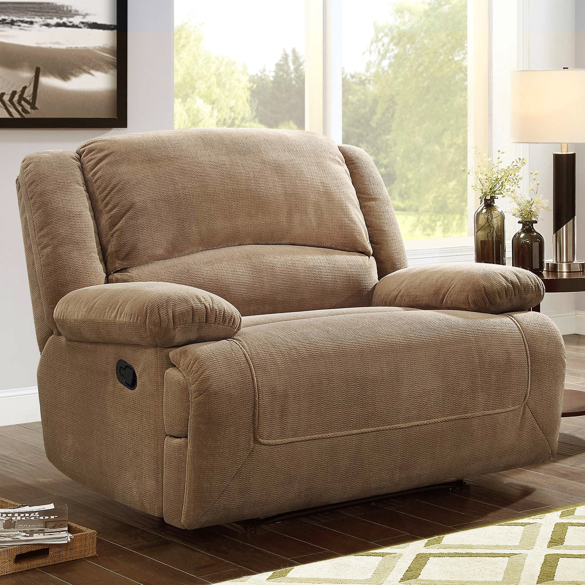 Better Homes and Gardens Cuddler Recliner, Multiple Colors