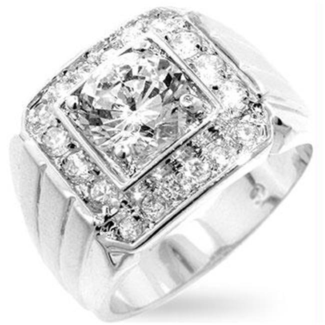 Charger CZ Ring, <b>Size :</b> 09