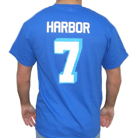 Lance Harbor #7 Coyotes Jersey T-Shirt Varsity Blues West Canaan Paul Walker