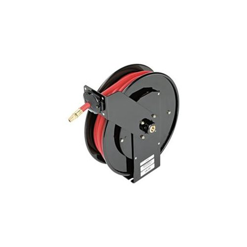 Mountain MTNHR350 3 8 In. X 50 Ft. Low Pressure Air, Water And Anti Freeze Hose Reel by Mountain