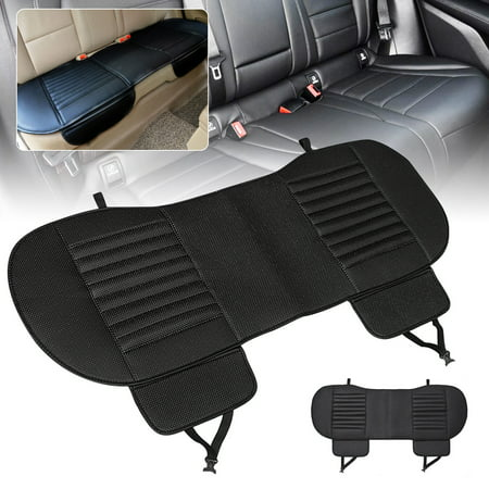 54''x19'' 3 Color Universal Interior Rear Seat Cover Cushion Pad Dustproof Waterproof PU Leather Bamboo Charcoal For Auto Car Vehicle