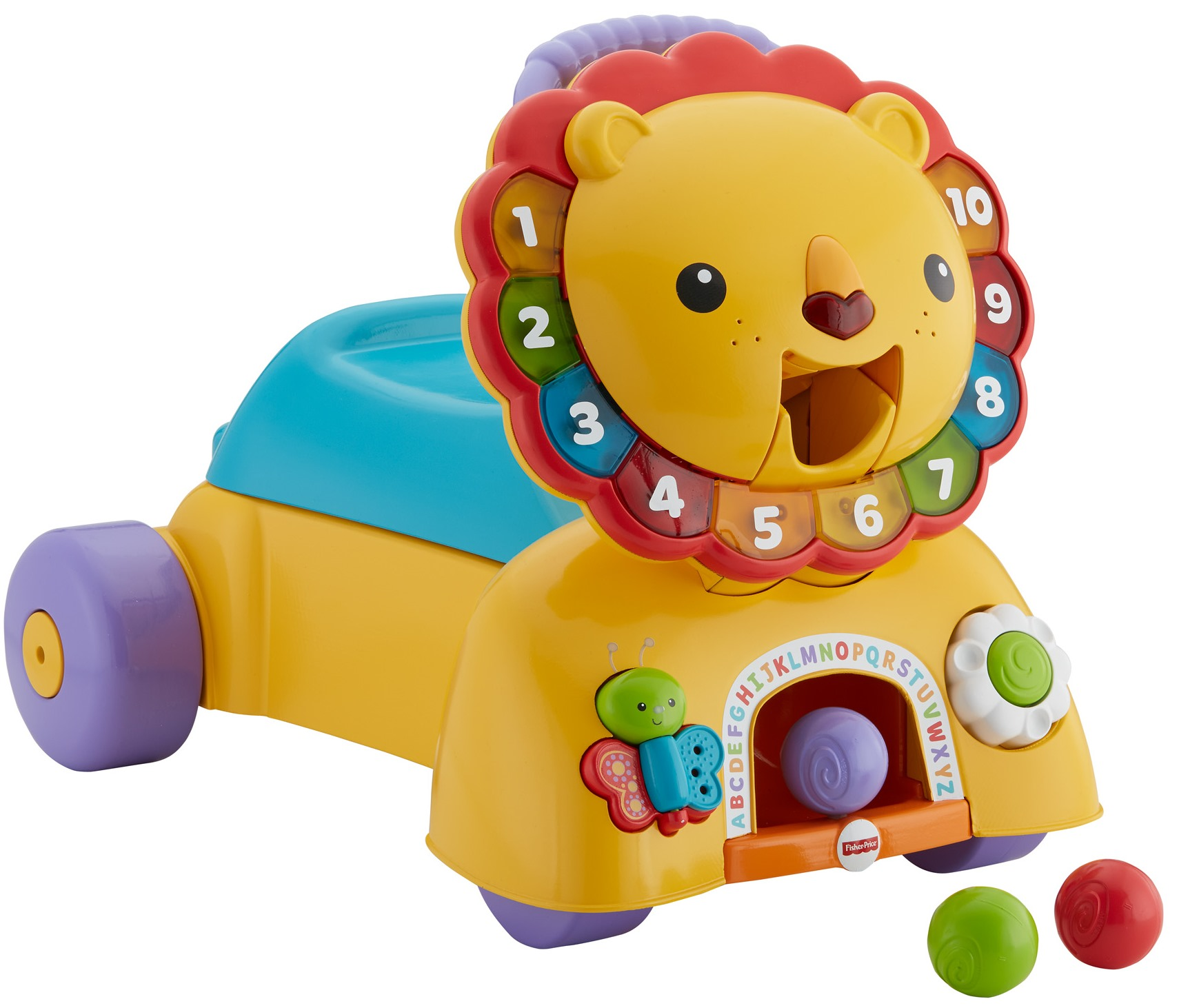 Fisher Price 3 in 1 Sit Stride & Ride Lion Walmart