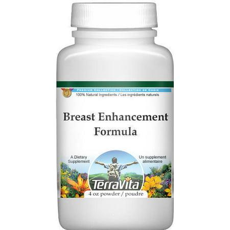 Breast Enhancement Formula Powder - Fenugreek, Saw Palmetto and Wild Yam (4 oz, ZIN: