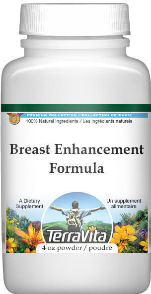 Breast Enhancement Formula Powder - Fenugreek, Saw Palmetto and Wild Yam (4 oz, ZIN: 514009)