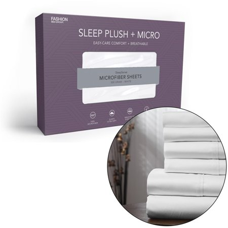 Fashion Bed Group Sleep Plush + Micro Sheet Set