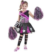 Gothi Cheerleader Child Halloween Costume
