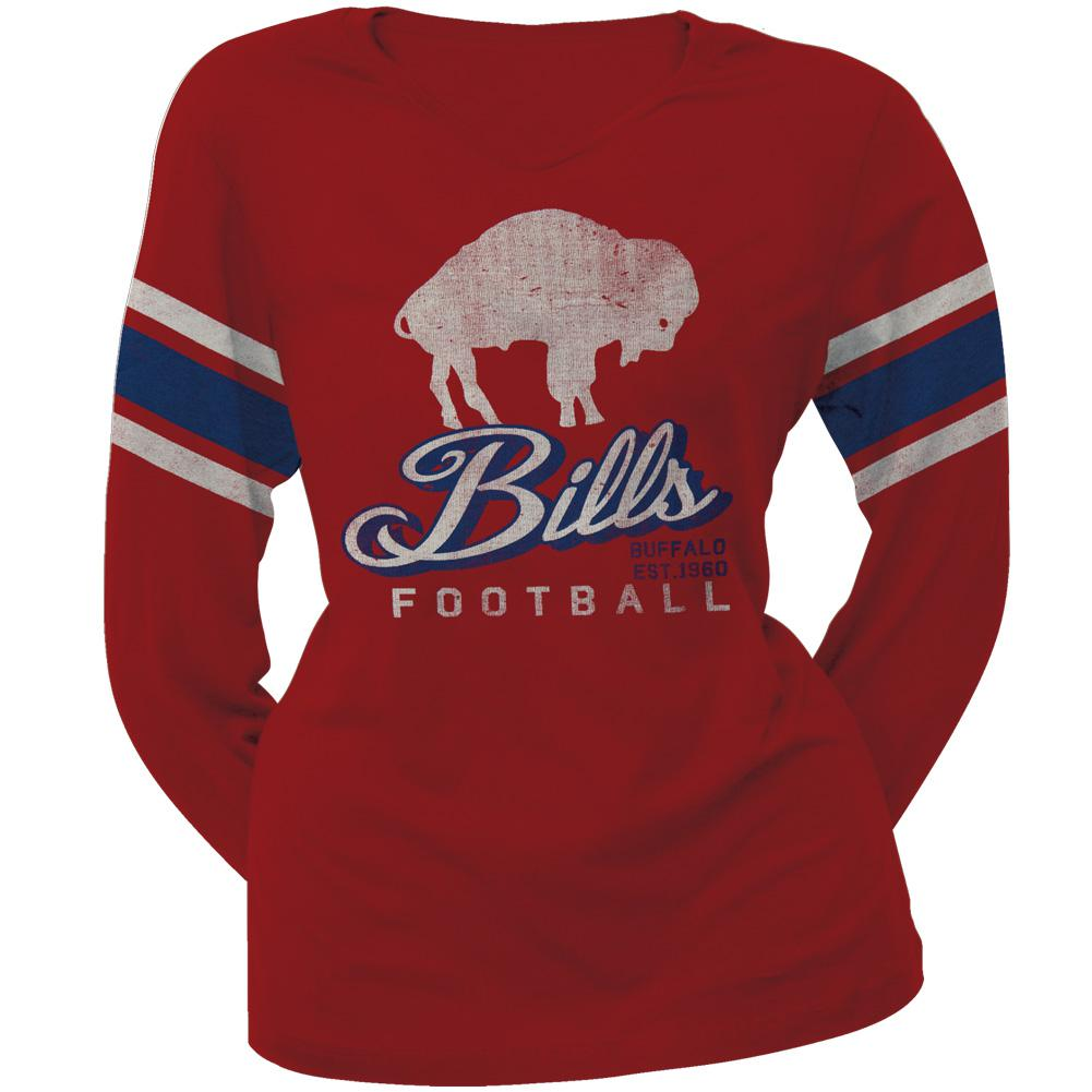 Buffalo Bills - Homerun Premium Juniors Long Sleeve T-Shirt