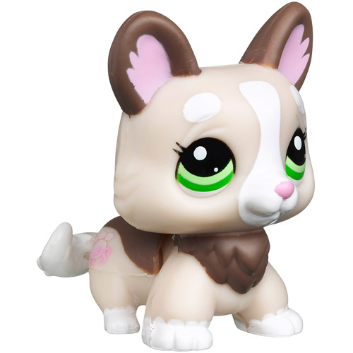 Littlest Pet Shop Walkables Pet Figure, Corgi