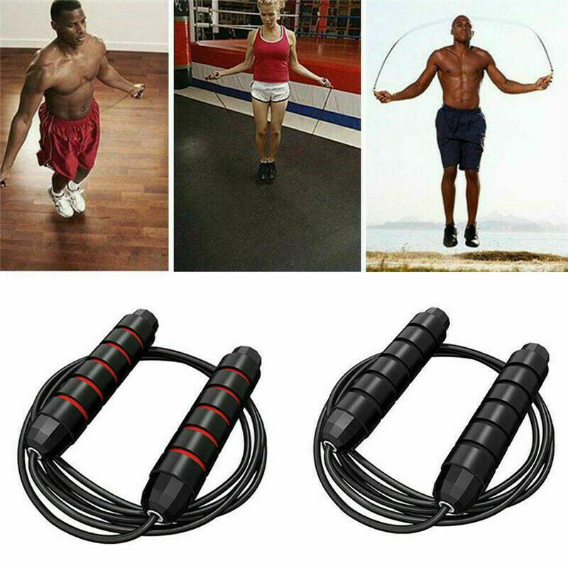 DON Skipping Rope 3m //10ft Adjustable Fitness Speed Rope Jump Boxing Exercise