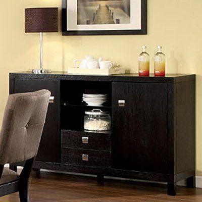 Furniture of America CM3311SV Bay Side Server