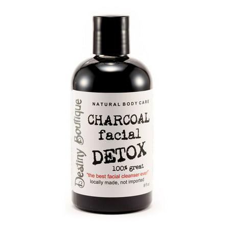 Destiny Boutique Charcoal Facial DETOX Wash