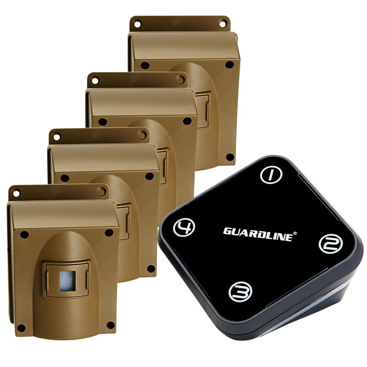 Wireless Driveway Alarm  Professional Outdoor Motion
