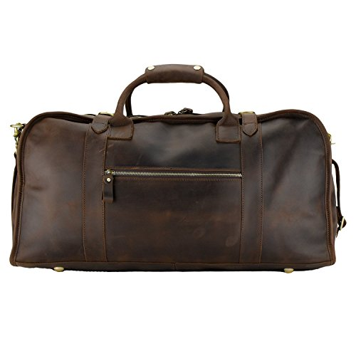 WANDERLUST EveryDay Bag (Large, Dark Brown)