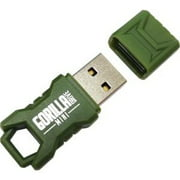 3PK 32GB GREEN MINI GORILLADRIVE RUGGED FLASH DRIVE USB