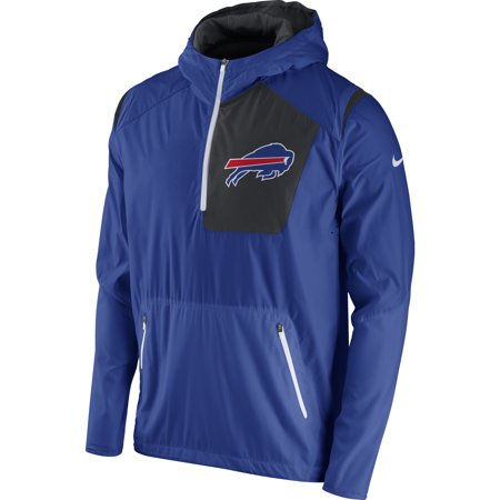 Buffalo Bills Nike Vapor Speed Fly Rush Half-Zip Jacket - (Nike Vapor Carbon Fly Td Cleats For Sale)