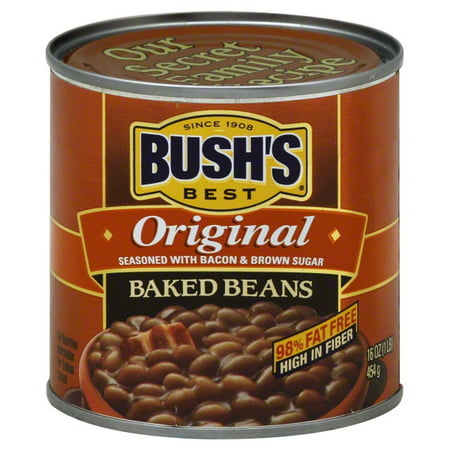 (6 Pack) Bush's Best Original Baked Beans, 16 Oz