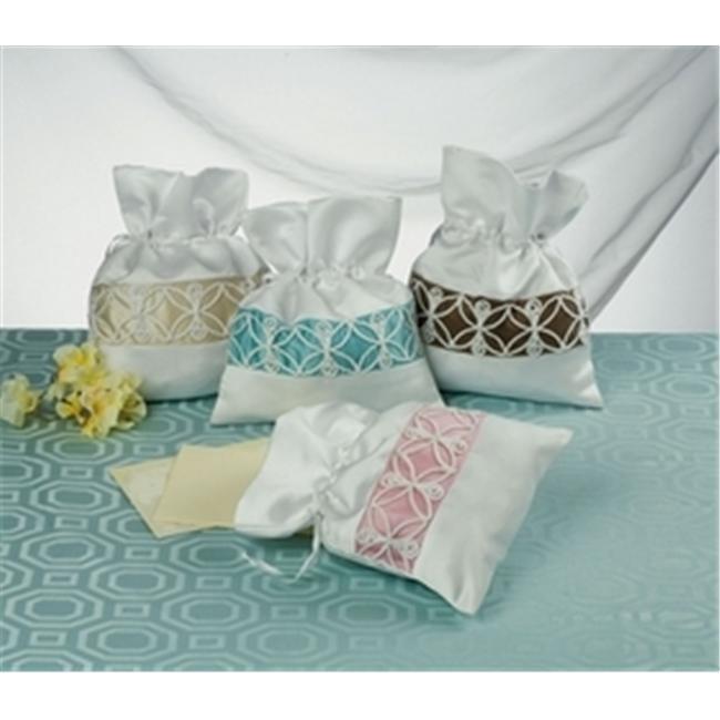 Ivy Lane Design 10-6046/BRN Money Bag- Contemporay Charm (Peekaboo Color Window)-Brown