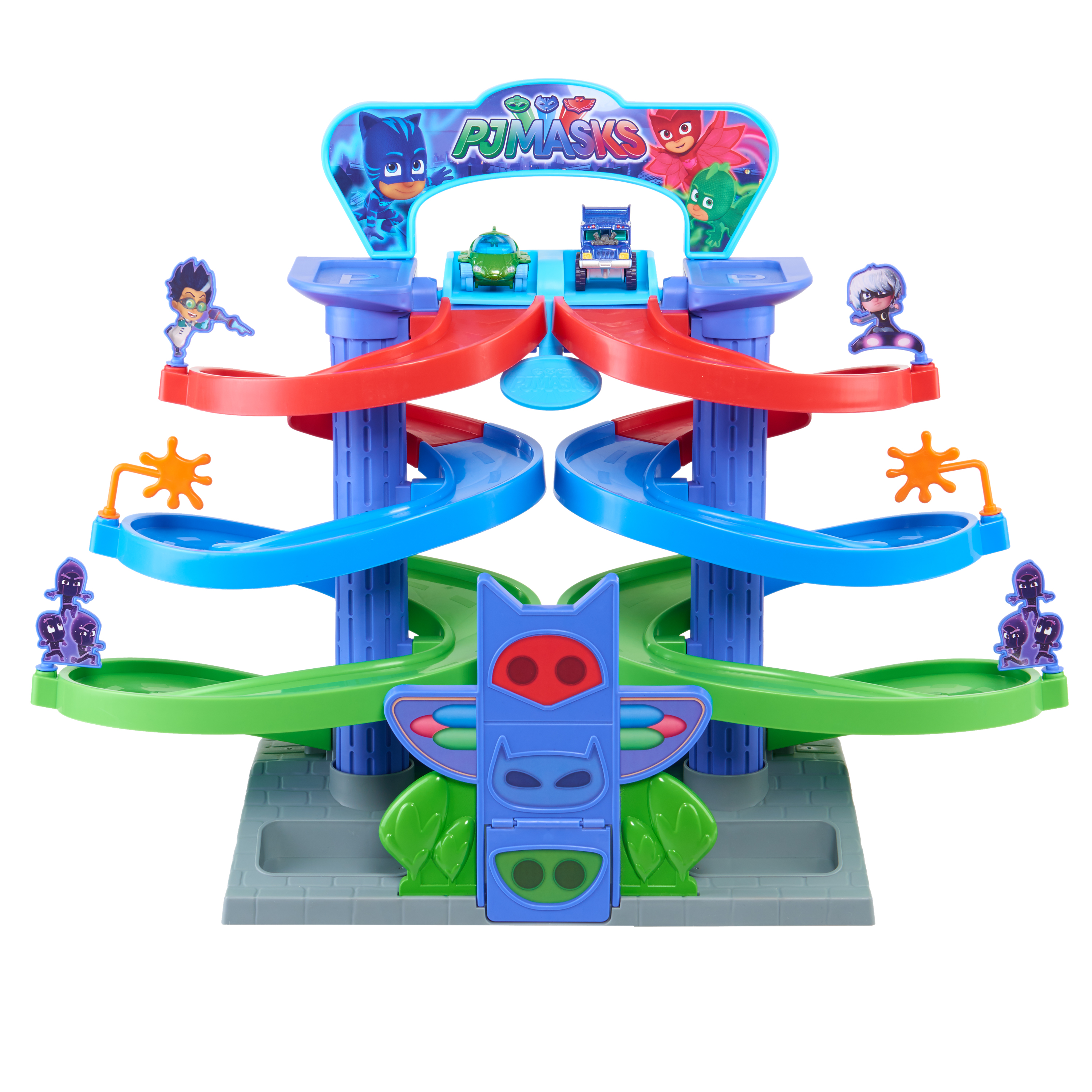 PJ Masks Spiral Die-Cast Playset