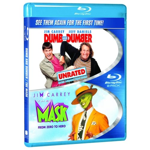Dumb And Dumber (Unrated) / The Mask (Blu-ray) (Widescreen)