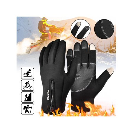 Unisex Winter Sports Working Touch Screen Full Finger Gloves for Skiing Climbing Cycling Motorcycle Outdoor Warmer