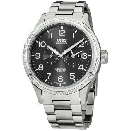 Oris Big Crown ProPilot Grey Dial Stainless Steel Men's Watch