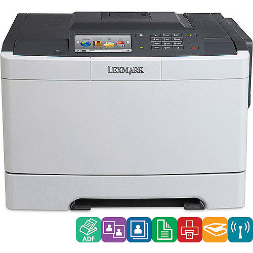 Lexmark CS510DE Color Laser MultiFunction Printer