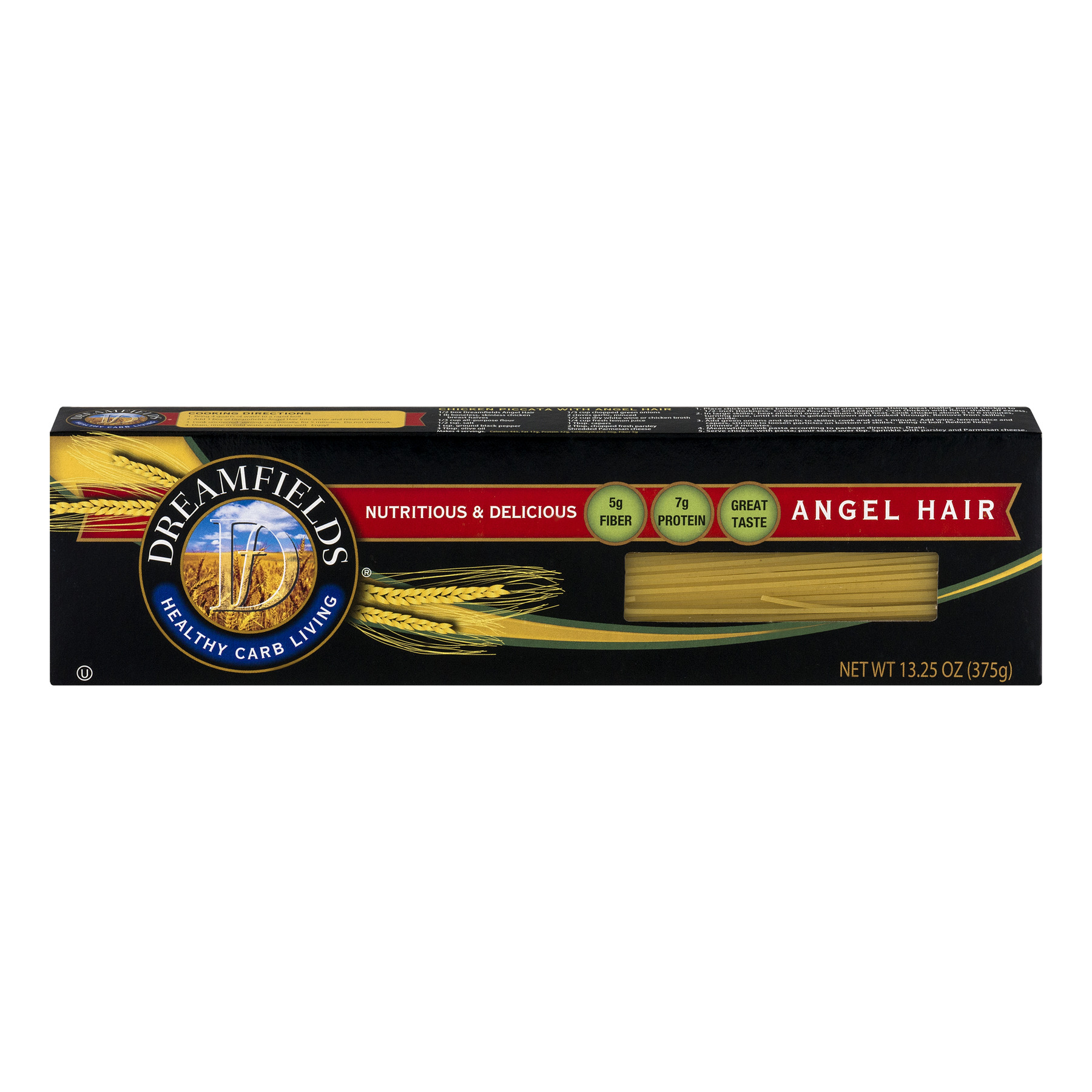 11 Pack Dreamfields Healthy Carb Living Angel Hair Pasta 13 25 Oz