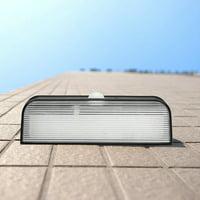 Yosoo Waterproof Wall Solar Lamp,LED Waterproof Solar Powered Wall Lamp Outdoor Garden Garage Gate Light,Garden Solar Light