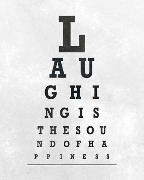 photo relating to Printable Eye Chart identify Eye Chart Typography II Poster Print as a result of SD Graphics Studio