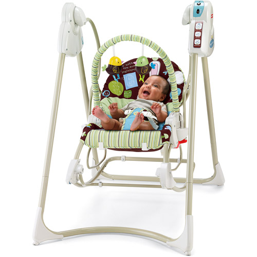 Fisher Price - Smart Stages 3-in-1 Rocker Swing, My Little Eye Collection