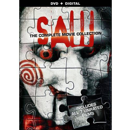 Saw: The Complete Movie Collection (DVD   Digital Copy) (With INSTAWATCH) (Widescreen)