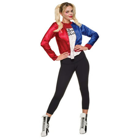 Suicide Squad - Harley Quinn Adult Costume Kit - Cheap Easy Adult Costumes