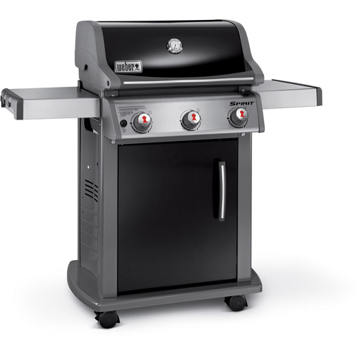Weber Spirit E-310 3-Burner LP Gas Grill, Black