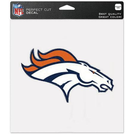 Denver Broncos WinCraft 8'' x 8'' Color Car Decal (Denver Broncos Auto Decal)