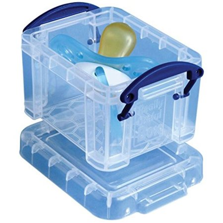 Really Useful 0.14 Liter Box, Clear