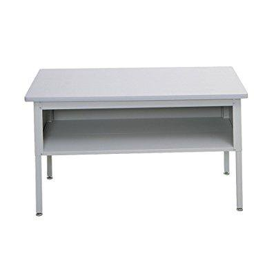 safco products 7749gr e-z sort mail station sorting table with shelf, gray