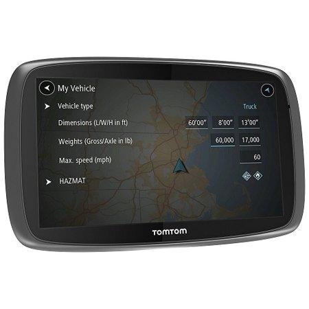 TomTom Trucker 600 Lifetime Trucker Maps and Traffic