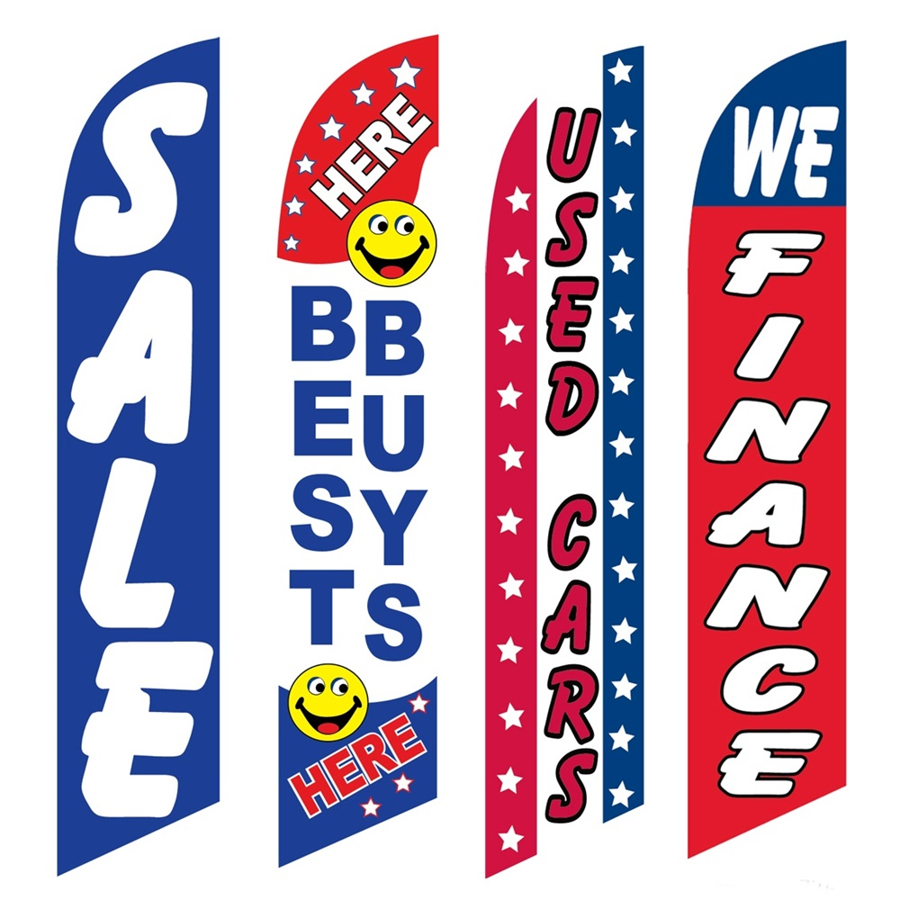 4 Advertising Swooper Flags Sale Best Buys Used Cars We Finance