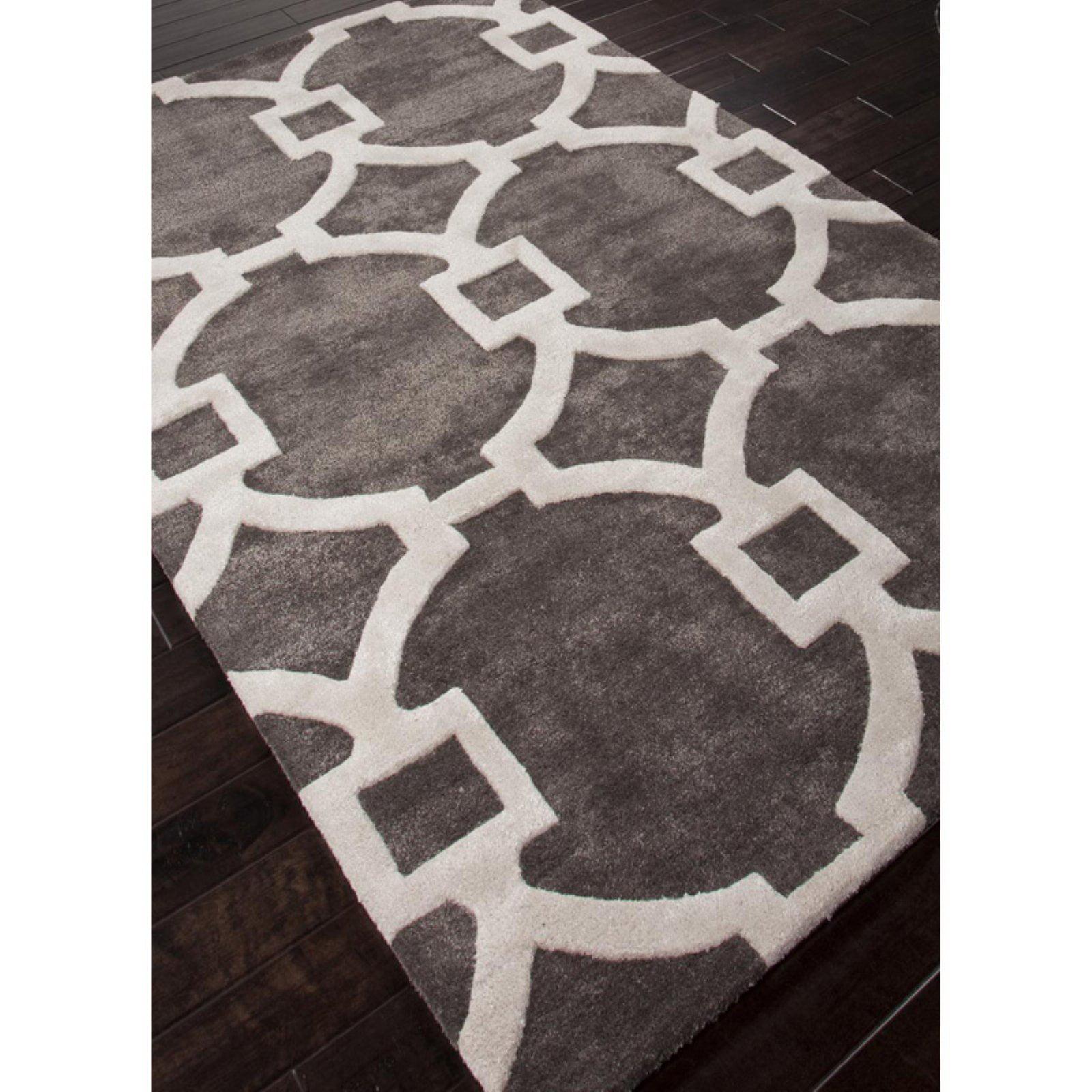 Jaipur City Regency Modern Geometric Pattern Wool/Silk Tufted Rug