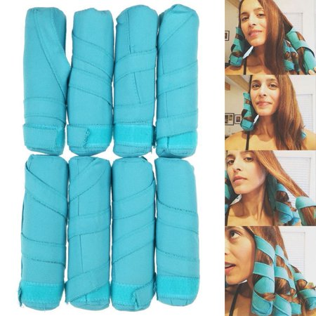Smooth Magnetic Long Roller - 8pcs/Set Styler in Sleep Kit Long Rollers Hair Curlers 6