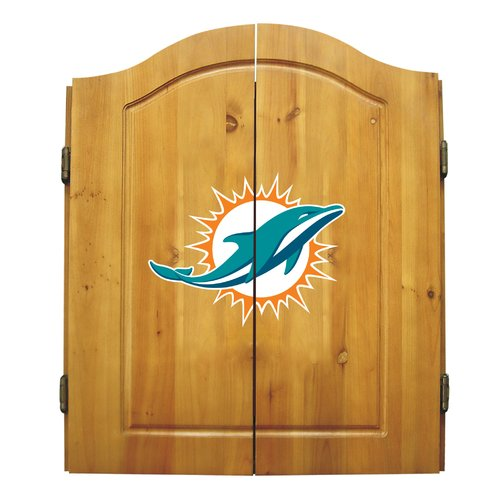 Imperial International NFL Dart Cabinet, Miami Dolphins