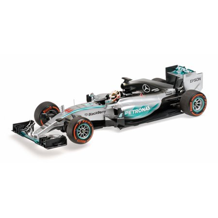 Mercedes AMG Lewis Hamilton Winner Japanese GP 2015 Model Car in 1:18 Scale by (Hamilton Model Kit)