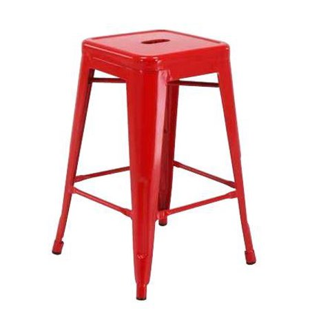 Work Smart OSP Designs 24 Steel Backless Barstool 2