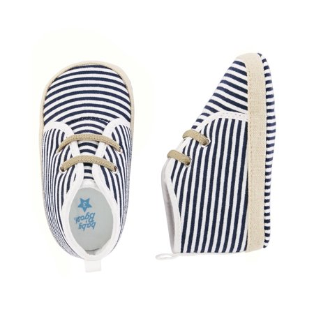 OshKosh B'gosh Baby Boys' High Top Crib Shoes, 3-6 Months ()