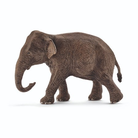 Schleich Wild Life, Asian Elephant, Female Toy Figure Seated Female Figure
