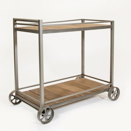 Vintage Bar Cart >> Rez Furniture Vintage Bar Cart